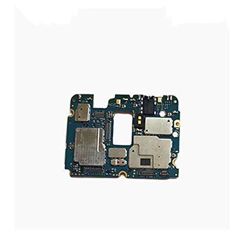 YANGLY Placa Principal De La Placa Principal De La Placa Base con Circuitos De Chips Cable Cable Fit For XIAOMI MI 5S MI5S M5S Plus 4GB + 64GB Pieza Repuesto teléfono Celular Placa Base