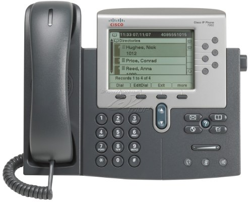 Cisco Unified IP Phone 7962 - Teléfono (Base, Digital, LCD, 320 x 222 Pixeles, 12,7 cm (5'), Monocromo)