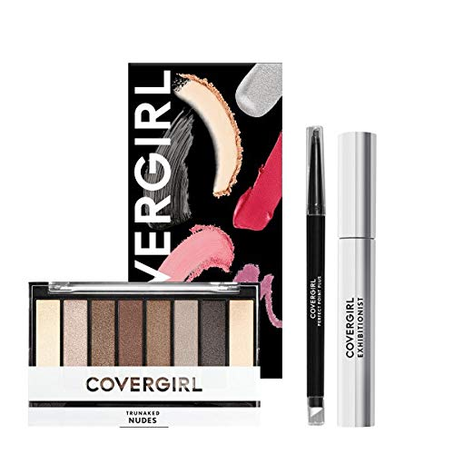 3-Pc COVERGIRL Perfect Eye Makeup Kit w/ Eye Shadow Palette, Mascara, & Eyeliner $8.40 + Free Shipping w/ Amazon Prime or Orders $25+