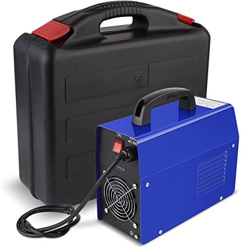 FIXKIT Saldatrice IGBT Portatile Elettrodo Corrente Continua, 220V, 20-120A Inverter, Saldatrice Elettrica Domestica CUSTODIA INCLUSA