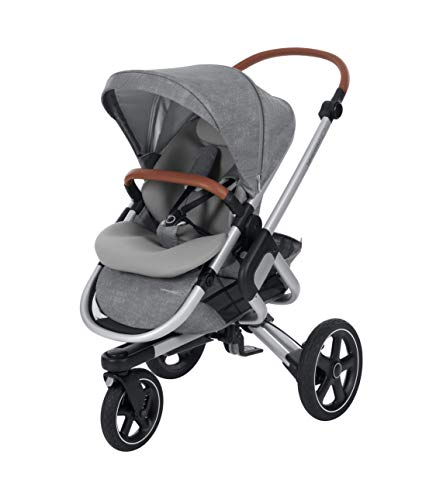 Bébé Confort Nova 3W 'Nomad Grey' kinderwagen All Terreno, van geboorte tot 3,5 jaar, grijs