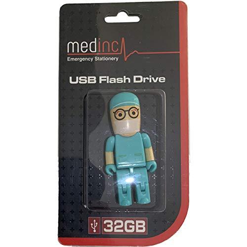 MedInc - Memoria USB de 32 GB, diseño de medicina Surgeon