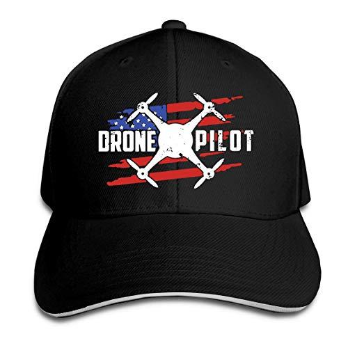 Wheatleya Patriotische Drohne Pilot Sandwich Hüte Baseball Cap Hut Snapback Hut Papa Hut