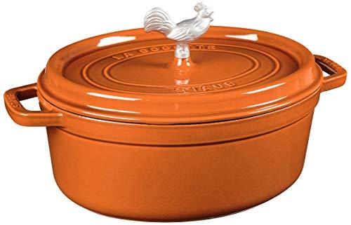 "Staub Ceramic 5.5"" x 4"" Rectangular Baking Dish - Burnt Orange"