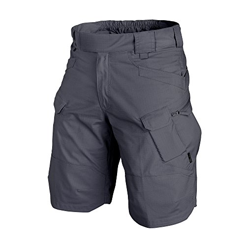 """Helikon Homme UTS Short 11"""" Ombre Gris Taille M"""