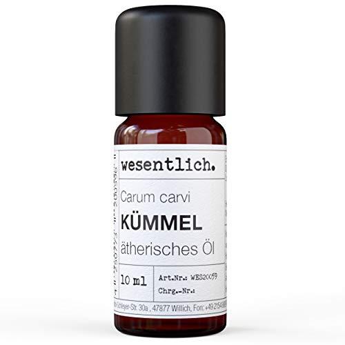Kümmelöl - reines ätherisches Öl von wesentlich. - 100% naturrein aus der Glasflasche (10ml)