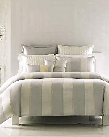 "New Hudson Park ""Ottoman Stripe"" Jacquard Standard Pillow Sham"