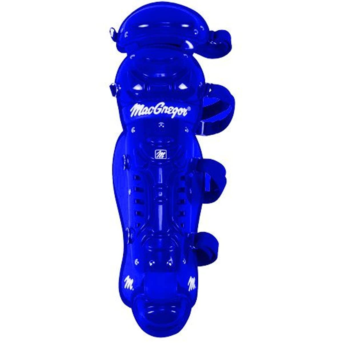 凶暴なコース罰MacGregor Youth B64 Double Knee Leg Guard Royal [並行輸入品]