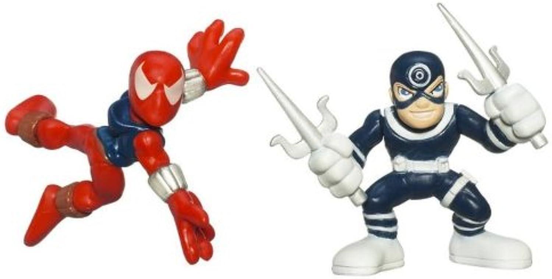 Marvel Superhero Squad Series 13 Mini 3 Inch Figure 2-Pack  Ben Reilly  Spider-Man and Bullseye