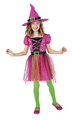 Rubies Disfraz Bruja Superstar ROSI Inf, Multicolor, S para Niñas
