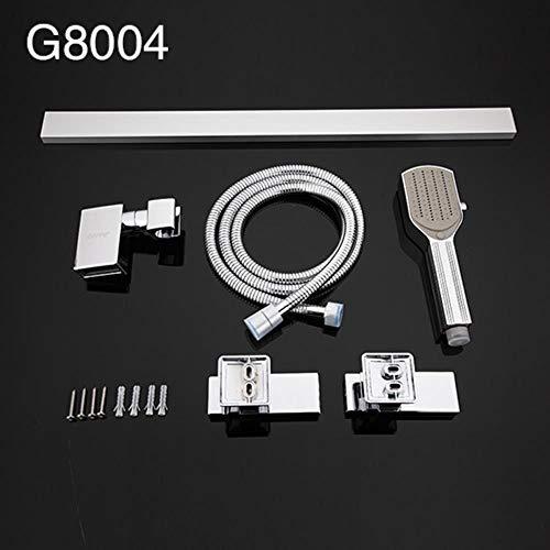 5151BuyWorld waterkraan, voor douche, douche, stangen, verlenging van douchegoot, Plomberie, flexibele muur, montage G8004