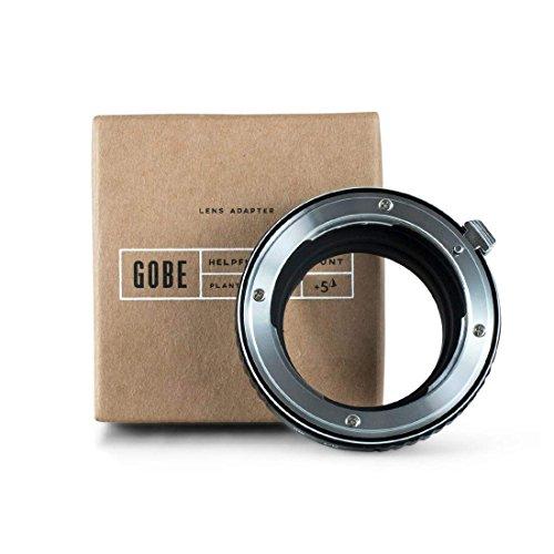 Gobe - Adaptador de Lente Compatible para Lentes Nikon F y cuerpos de cámara Leica M