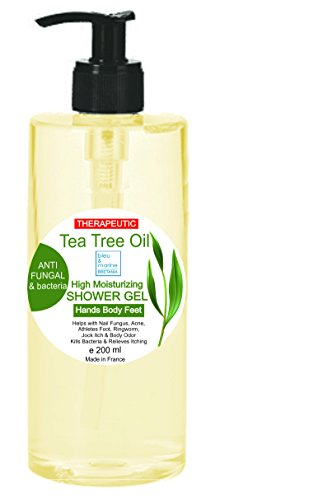 Milde anti-luizenzeep met TEA TREE Anti-schimmel Anti Acne Gel Bath Gel Family douchegel Zuiverende shampoo 200 ml