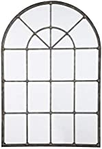 Ashley Furniture Signature Design - Oengus Arched Window Finished Metal Mirror - Traditional - Bronze Finish