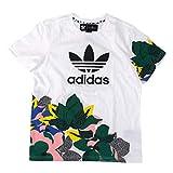 adidas アディダス レディース HER STUDIO LONDON ルーズ Tシャツ[GE4315/GC6833]Mサイズ GE4315 WHITE