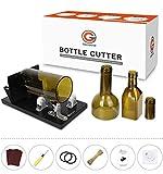Genround [2020 Versión de actualización] Cortadores de Botellas de Vidrio Redondo Cuadrado Cortadora vidrio Bottle Cutter