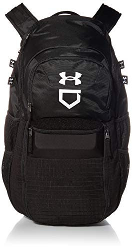 Under Armour Men's Yard Baseball Backpack , Black (001)/White , One Size Fits All