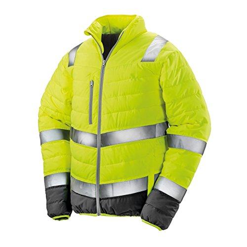 Result Safeguard Herren Safety Jacke (3XL) (Neongelb)