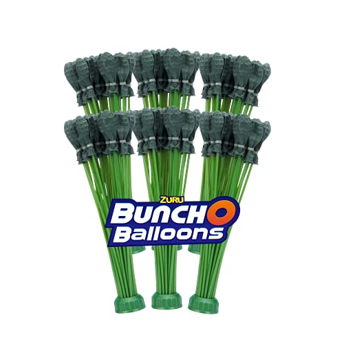 Bunch O Balloons Rapid-Filling Grenade-Colored Water Balloons 6 Pack (210 Balloons)
