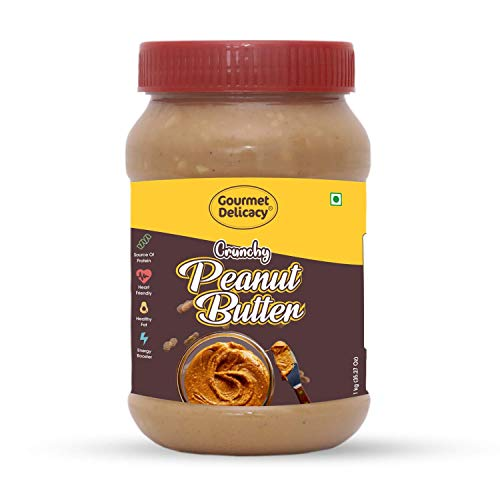 Gourmet Delicacy All Natural Crunchy Peanut Butter (Sweetened) 1 Kg