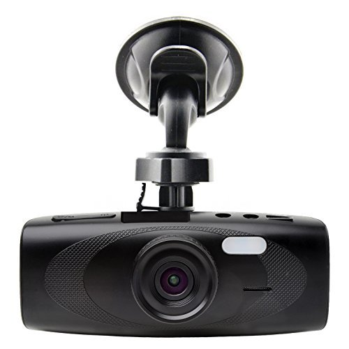 "Black Box G1W-H Hidden Dash Cam - WDR 160 Wide Angle 4X Zoom - Full HD 1080P H.264 2.7"" LCD Car DVR Video Recorder - Night Vision Motion Detection G-Sensor - NT96650 + AR0330"