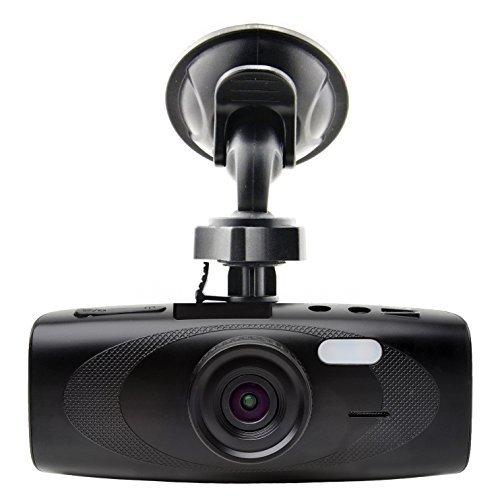 "Black Box Kamo G1W-H Dash Cam Capacitor Version - WDR 160 Wide Angle 4X Zoom - Full HD 1080P H.264 2.7"" LCD Car DVR Video Recorder - Night Vision Motion Detection G-Sensor - NT96650 + AR0330"