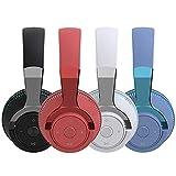 Premium Hi-Fi DJ Style Over Ear Pro Design PC Wireless Gaming Headset Headphone Computer Headband Games Gaming Headset with Mic (Black)