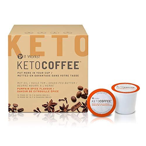 It Works! Keto Coffee 7 Pack - 1 Week Supply Trial