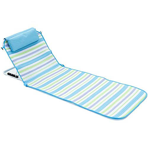 ZWWZ Reclining Outdoor Sun Loungers, Sitting And Lying Dual-Use Chair, Fishing Chair Apply To Outdoor Camping Lunch Break Beach Chair,Coarse HAIKE (Color : Fine)