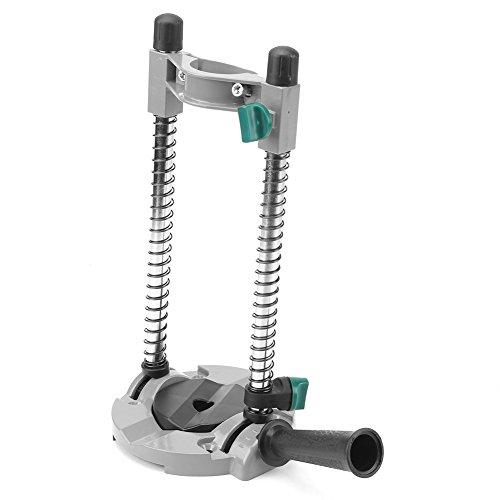 Oumefar - Soporte de posicionamiento para taladros, soporte de guía de taladro, amoladora eléctrica estable, ángulo ajustable para taladros eléctricos
