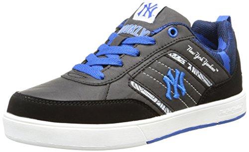 New York Yankees - Vadim Low, Sneakers per Bambini e Ragazzi, Nero (105/black/imperial Blue), 37