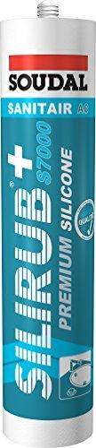Soudal Silirub+S7000 Premium Sanitär Silikon 310 ml Kartusche - pergamon