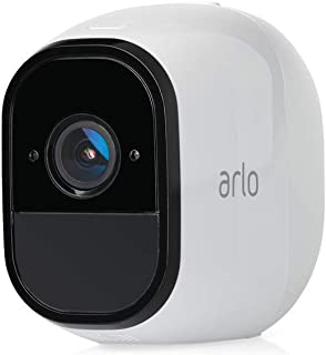 Arlo Pro - Add-On Camera, Work with Alexa, Rechargeable, Wire-Free, 1080p HD, Audio, Indoor/Outdoor, [Base Station not Included] (VMC4030-100AUS)