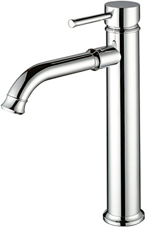 Caribou Waschtischarmatur Wasserhahn Spültisch Küche Waschtisch Waschenbecken Bad Alle Kupfer-Warm- und Kaltwasserverchromung