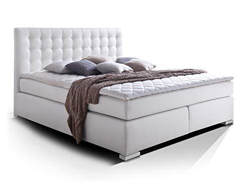 moebel-eins Isabell Plus Boxspringbett Hotelbett Bett amerikanisches Bett 7-Zonen-Multi-Tonnentaschenfederkern-Matratze