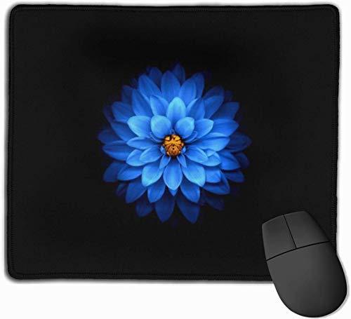 Behang Blauwe Bloemblaadjes Bloem Anti-Slip Persoonlijkheid Gaming Muis Pad Rechthoek Mousepad Art Mat