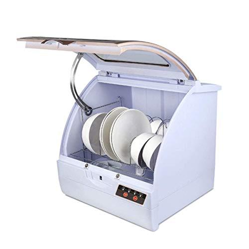 Barir Lavavajillas portátil - encimera Compacto pequeño for lavavajillas Apartamento, Condo, RV, Oficina y Otros cocinas pequeñas -12 Cubierto Capacidad - Blanco