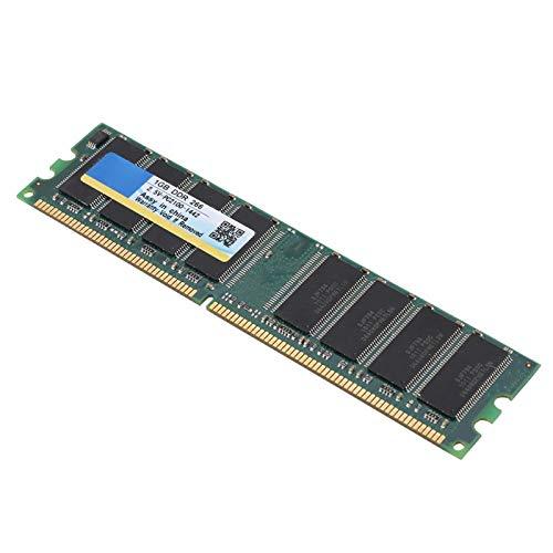 Socobeta Stabiler DDR-Speicher 1G Hochwertiger, langlebiger Desktop-RAM Desktop-Speicher 184Pin 1G DDR-Speicher Hohe Geschwindigkeit für Computer für Desktop