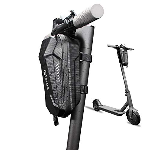 Epessa Scooter Storage Bag,Will Not Block The Lights,Scooter Handlebar Bag,Front Bag Compatible with Mijia M365/M365 Pro/Segway ES1/ES2/ES3 for Carrying Charger Tools Repair Tools (Straps Fixed, 3L)