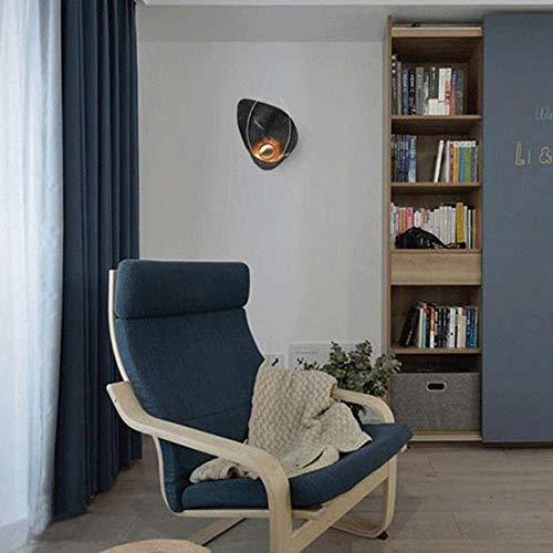 Mkjbd wandlamp tuinlamp wandlamp wandlamp wandlamp wandlamp wandlamp plafondlamp eenvoudige schelp zwarte parels 27 x 40 cm