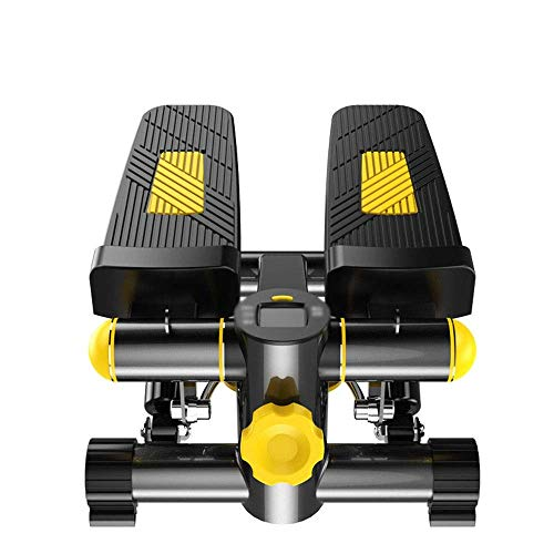 8bayfa, stepper, huishouden, mini, hydraulic, pedalen, pedalen, multifunctionele fitness, sporttoestel, kleur: geel, afmetingen: 40 x 43 x 23 cm