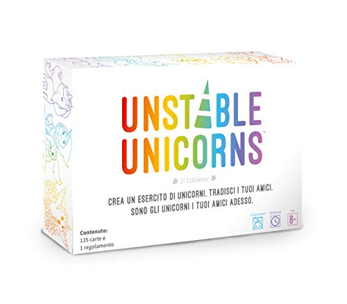 Asmodee - Unstable Unicorns - Gioco da Tavolo Edizione in Italiano (8567 ASMODEE ITALIA)