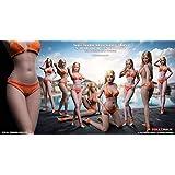 [TOYBARJAPAN] TBLeague 1/6スケール アクションフィギュア S33B 細身ロング美足 超柔軟性 シームレス 女性素体 サンタンシリーズ バストサイズM サンタン肌 29.4cm