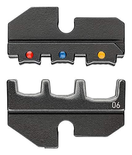 KNIPEX 97 49 06 Crimpeinsatz für isolierte Kabelschuhe + Steckverbinder
