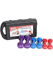 Weights Weights set 6 pieces multicolored, with a bag
