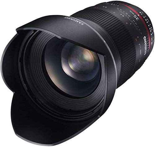 Samyang 35/1,4 Objektiv DSLR Sony E manueller Fokus Fotoobjektiv, Weitwinkelobjektiv schwarz
