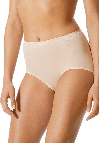 Mey Basics Serie Triniti Damen Taillenslips/ - Pants Puder L-XL(2)