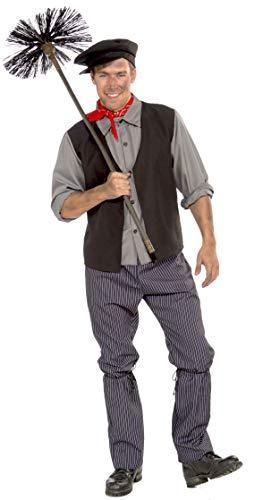 Foro Novedades Hombres de disfraz de deshollinador, Multicolor, Standard