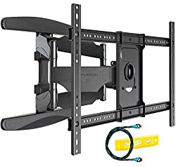 ✅ ULTRA STRONG DOUBLE ARMS - Our HDTV-DXL double arm bracket is engineered for strength and WILL NOT BEND. The mount is equipped with stress tested load bearing compression hinges to eliminate the risk of bending when fully extended. Manufactured to ...