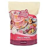 FunCakes Deco Melts Blanco Extremo - AZO Free 1000 g
